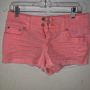 $4/20 Coral Shorts